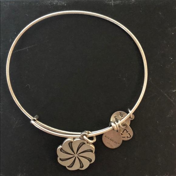 Alex And Ani Jewelry Eternity Symbol Bangle Bracelet Poshmark